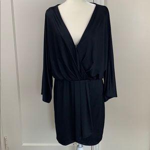 Victoria's Secret faux wrap dress Dolman sleeve